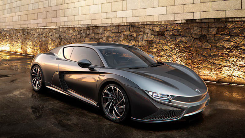 Qiantu K50 Chinese electric coupe is coming here in 2020