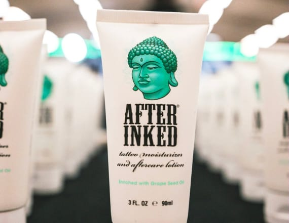 After Inked Tattoo Lotion is ideal for tattoo care