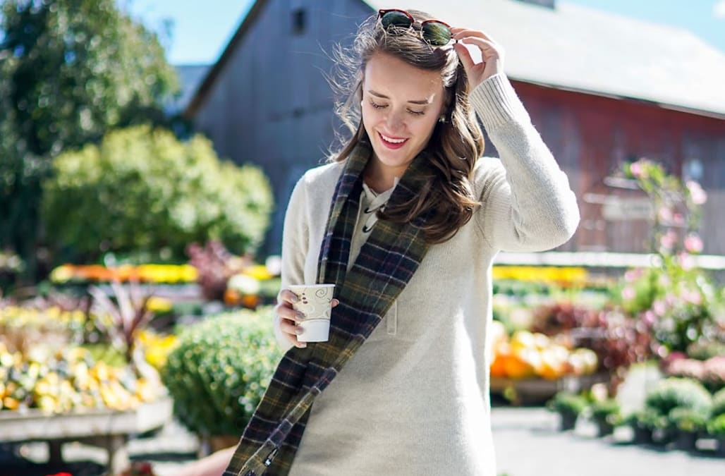 d029542d39b How to wear a dress in the fall without being cold - AOL Lifestyle