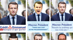 Sitôt dévoilée, la nouvelle affiche de Macron