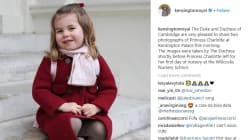 Princess Charlotte Looks So Big In New Nursery School