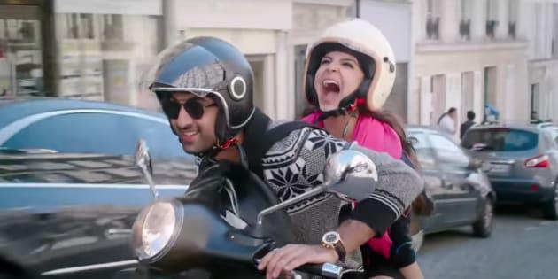 Ranbir Kapoor and Anushka Sharma in 'Ae Dil Hai Mushkil'.