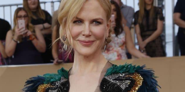Nicole Kidman aux 23eme Screen Actors Guild Awards de Los Angeles, le 29 janvier 2017.
