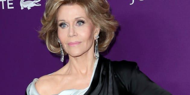 Jane Fonda aux Costume Designers Guild Awards à Beverly Hills le 21 février 2017.