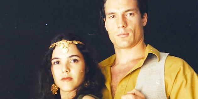Papel do cigano Igor marcou a estreia de Ricardo Macchi na TV.