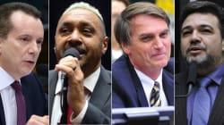 O que fizeram até agora os 4 deputados federais com mais