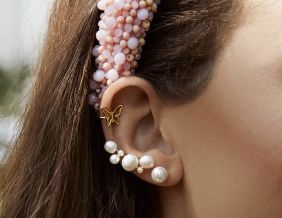 These festive earrings make great stocking stuffers