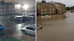 Dramatic Time-Lapse Shows How Quickly Floodwaters Rose In