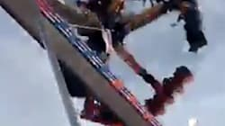 Shocking Footage Shows Horrific Moment Fair Ride Malfunctions, Leaving 1