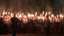 Torch-Carrying White Nationalists Protest Removal Of