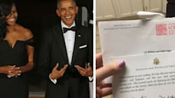 Yep, The Obamas Still Respond To Wedding Invites From Perfect