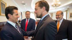 La reunión de DiCaprio, EPN y Slim sintetizada en 10