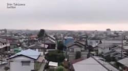 Le réveil glaçant des Japonais au son des sirènes