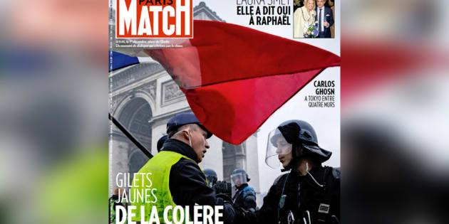 Un antisémite se retrouve en Une de Paris Match pour illustrer les gilets jaunes