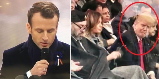 La stoccata di Trump a Macron: