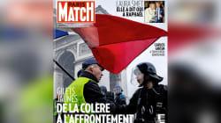 Un antisémite atterrit en Une de Paris Match pour illustrer les gilets