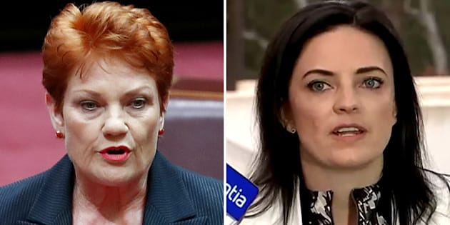 """Emma Husar is """"angry, upset and disappointed"""" with Pauline Hanson."""