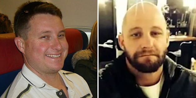 Senior Constable Brett Forte (left) was shot dead by Rick Charles Maddison, 40 (right) during a traffic stop on Monday.