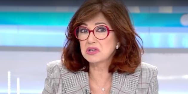 Ana Rosa Quintana, presentadora de 'El Programa de AR'.