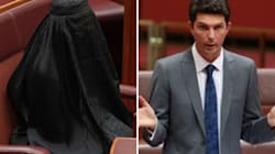In 4 Words, Scott Ludlam Summed Up The Vulgarity Of Hanson's Burqa