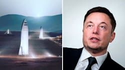 Elon Musk Announces New Plans For A Rocket To Take Humans To