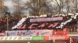 Ces supporters bulgares réalisent un tifo
