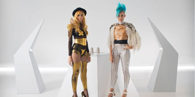 Aussie DJ Duo NERVO try to attract women to engineering in their funky, futuristic new song.