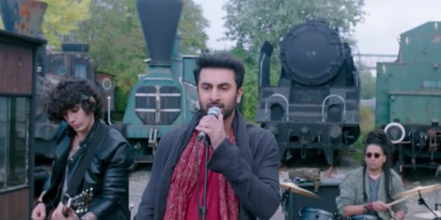Ranbir Kapoor in a screen-grab from 'Bulleya'.