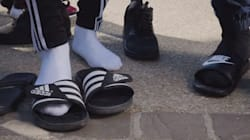 Le rappeur qui a lancé la mode des claquettes-chaussettes