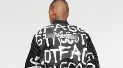 Critican a Diesel por crear una chaqueta con mensaje