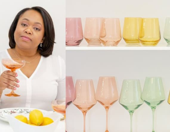 This Black-owned brand has gorgeous glassware