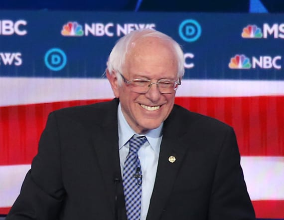 Sanders solidifies himself as frontrunner: Poll
