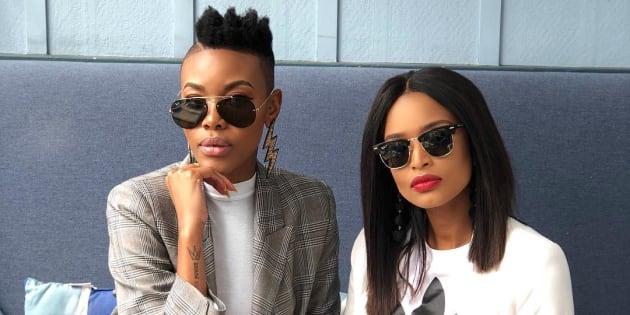 Loot Love and Ayanda Thabethe.