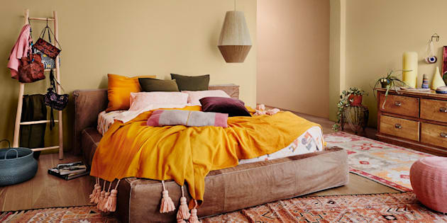 Styled by Bree Leech and Heather Nette King for Dulux Colour Trends 2017, this warm colour palette is influenced by  South America and the Middle East.