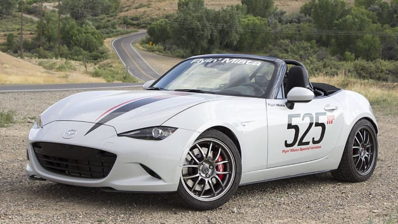 Flyin' Miata's 525-hp V8-powered ND finally hits the streets | Autoblog