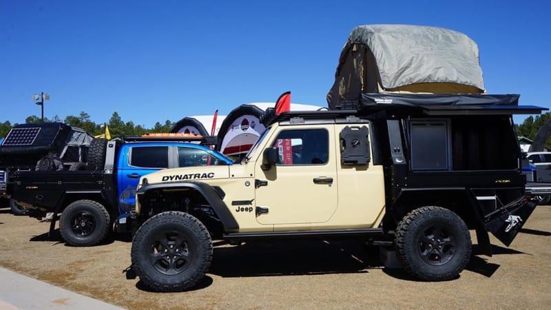Jeep Gladiator gets Hellcat crate motor, loses doors in Dynatrac