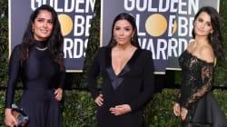 VIDEO: Los Golden Globes tuvieron una alfombra roja poco