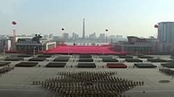 North Korea Holds Large Military