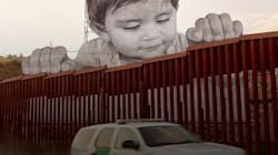 VIDEO: Kikito ve por encima de la frontera que divide a México y