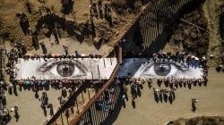 Con quest'opera lo street artist Jr sfida Trump e lo invita a un Picnic gigante tra Stati Uniti e