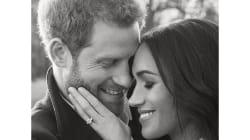 Les photos de fiançailles officielles du Prince Harry et de Meghan