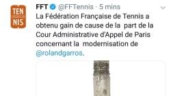 Cet objet partagé par erreur par la Fédération française de tennis n'a pas grand chose à voir avec les