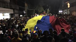Los venezolanos en CDMX apoyan a Guaidó en