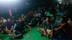 I militari libici irrompono sulla nave Nivin, violenze sui