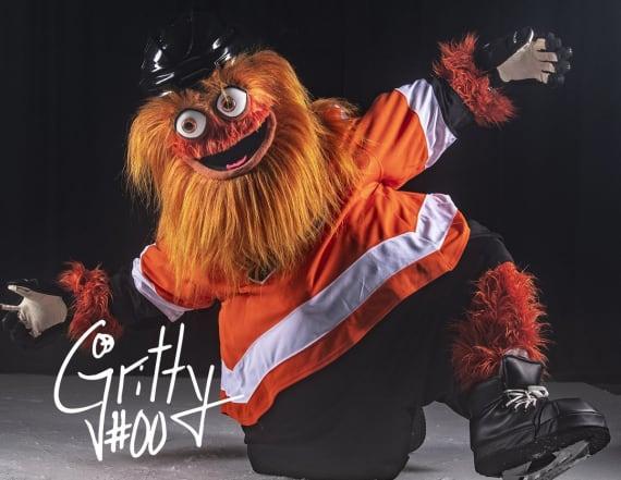 Flyers unveil new orange, googly-eyed mascot
