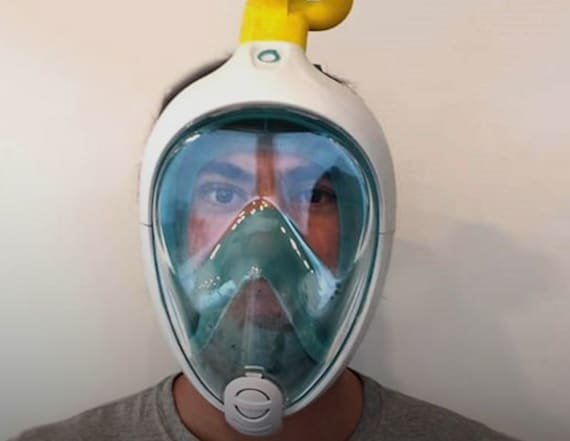 Brilliant hack turns scuba masks into ventilators