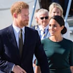 Harry & Meghan's First Official Royal