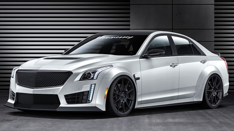 2016 Hennessey Cts V Is Properly Ridiculous With 1 000 Horsepower Autoblog