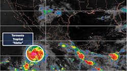 Aletta amenaza con convertirse en huracán categoría