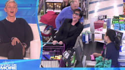 Kris Jenner Prank Shopping With Ellen In Her Ear Is Pure